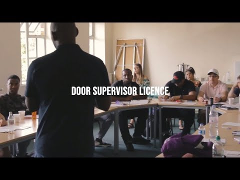 SIA Door Supervisor Licence | How to get licensed