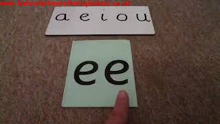 Letters and Sounds Phase 3 Week 4: Recognising 'ai' 'ee' 'oa'