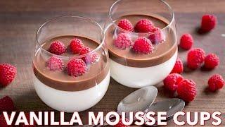 Dessert: Vanilla Mousse Cups (Ptichye Moloko)- Natasha