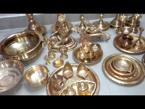 Easy way to clean Brass (पीतल ) and copper (ताम्बा )/super quick way to clean brass and copper