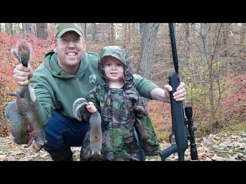 Squirrel Hunting Catch Clean & Cook - PAYBACK TIME!!!!!!!!