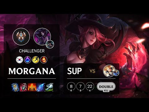 Morgana Support vs Lux - KR Challenger Patch 10.18