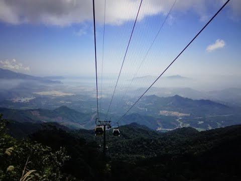 World's Longest Cable Car - Ba Na Hills, Da Nang, Vietnam