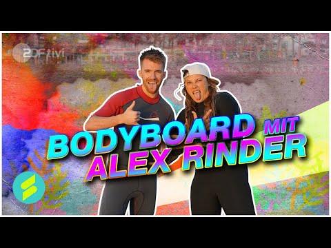 Die Sportmacher - Stefan beim Bodyboarden mit Alex Rinder   ZDFtivi