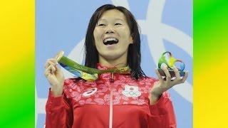 リオデジャネイロ五輪第7日の11日、競泳は女子200メートル平泳ぎ...