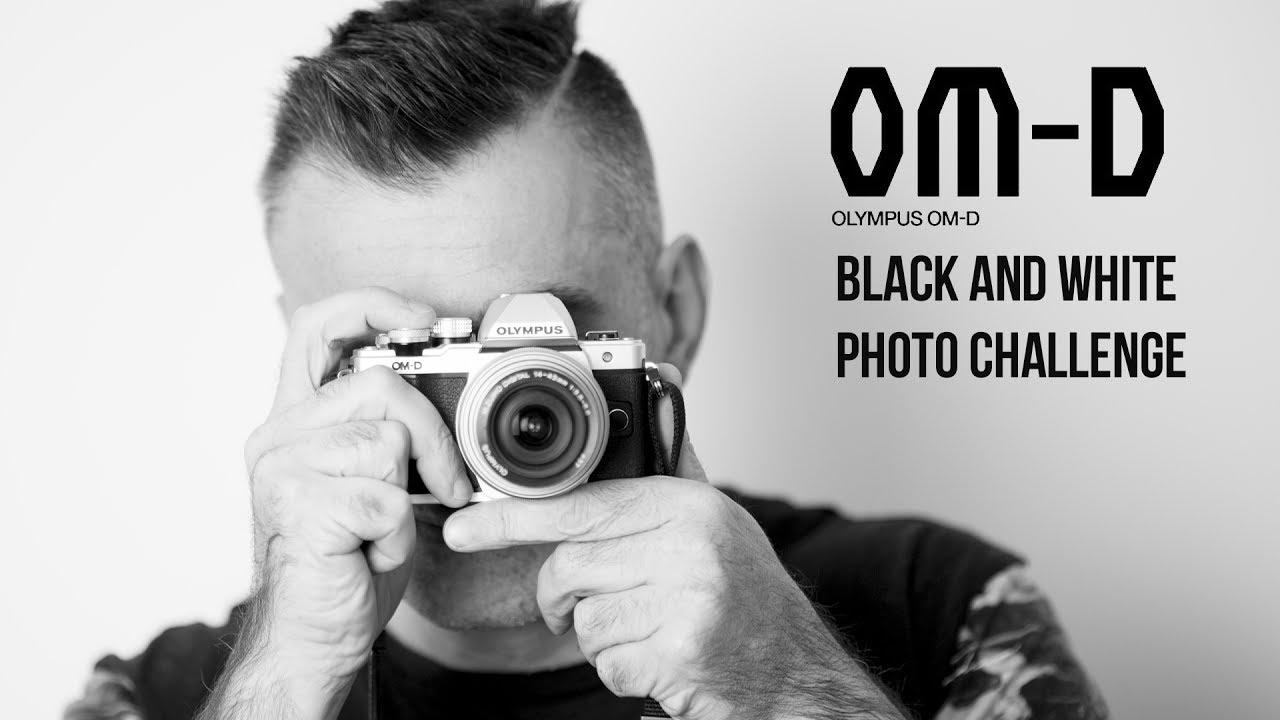 Olympus omd em 10 mark ii black and white photo shoot challenge