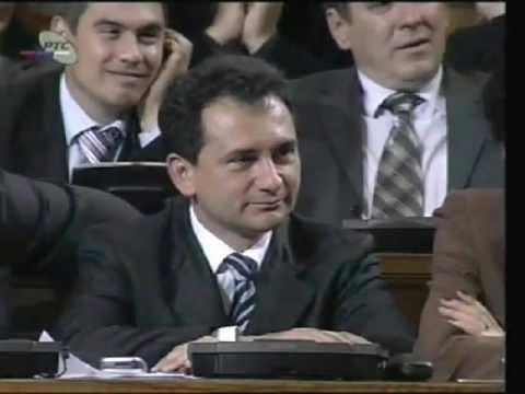 Božidar Đelić, Aleksandar Vučić - Skupština 7. maj 2007.