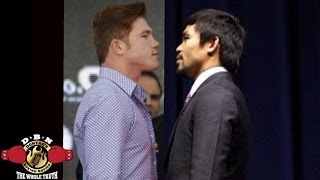 CANELO VS PACQUIAO  IN TALKS FOR SEPTEMBER ACCORDING TO FREDDIE ROACH