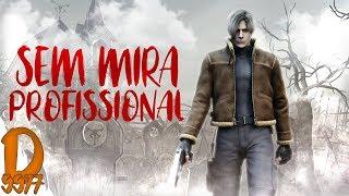 RESIDENT EVIL 4 - SEM MIRA LASER - PROFISSIONAL - ZERANDO NO CONTROLE!
