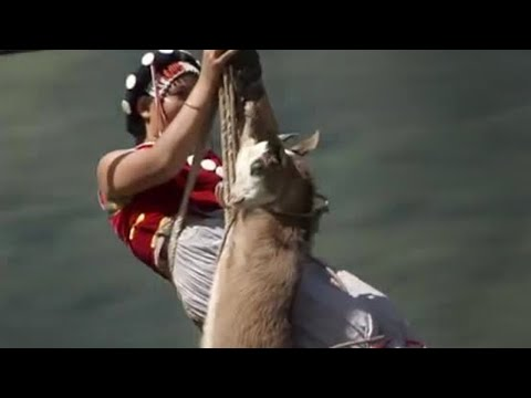 Nu Jiang rope crossings - Wild China - BBC