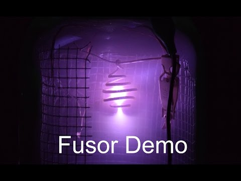 IEC Fusion Reactor Demo - No Fusion