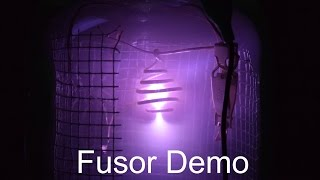 IEC Fusion Reactor Demo - No Fusion