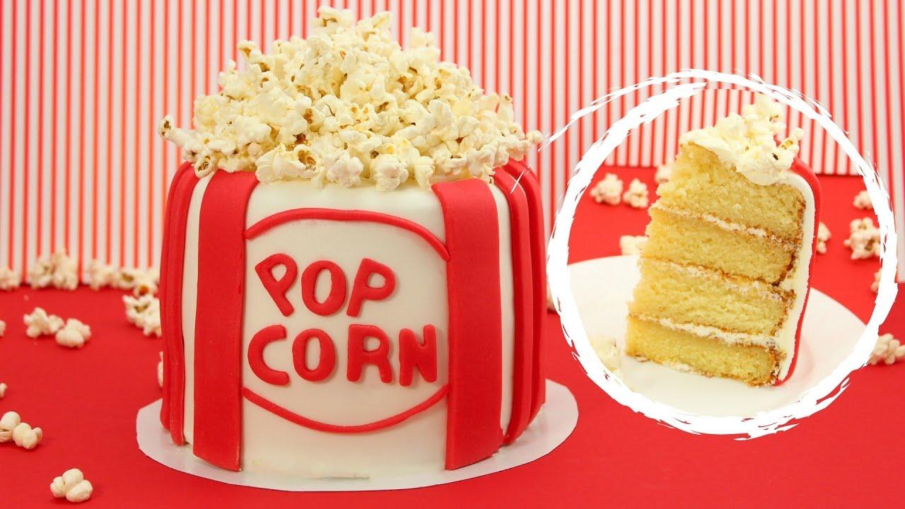 Popcorn Cake Selber Machen Youtube