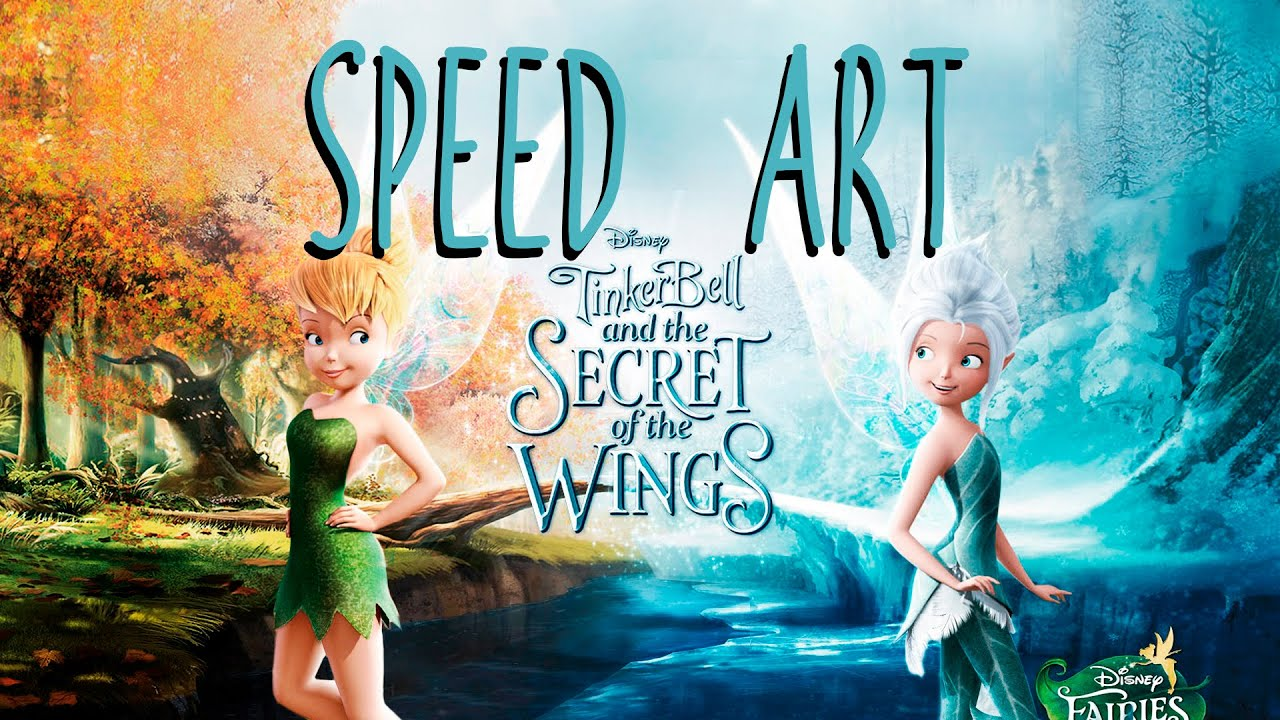 Speed Art Tinkerbell And The Secret Of Wings Wallpaper