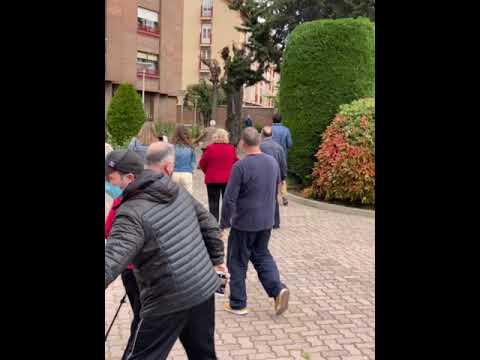 Un corzo recorre las calles de Valladolid