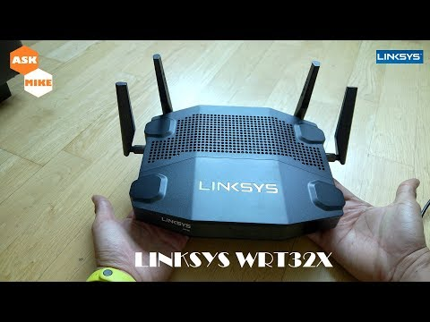Linksys WRT32X Quick Review, great value router at current price.