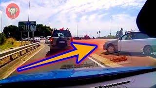 【ドラレコ】こんな割り込み有り?!交通マナー守らない人はバチが当たる?!【衝撃映像】 Karma【Road Accident】