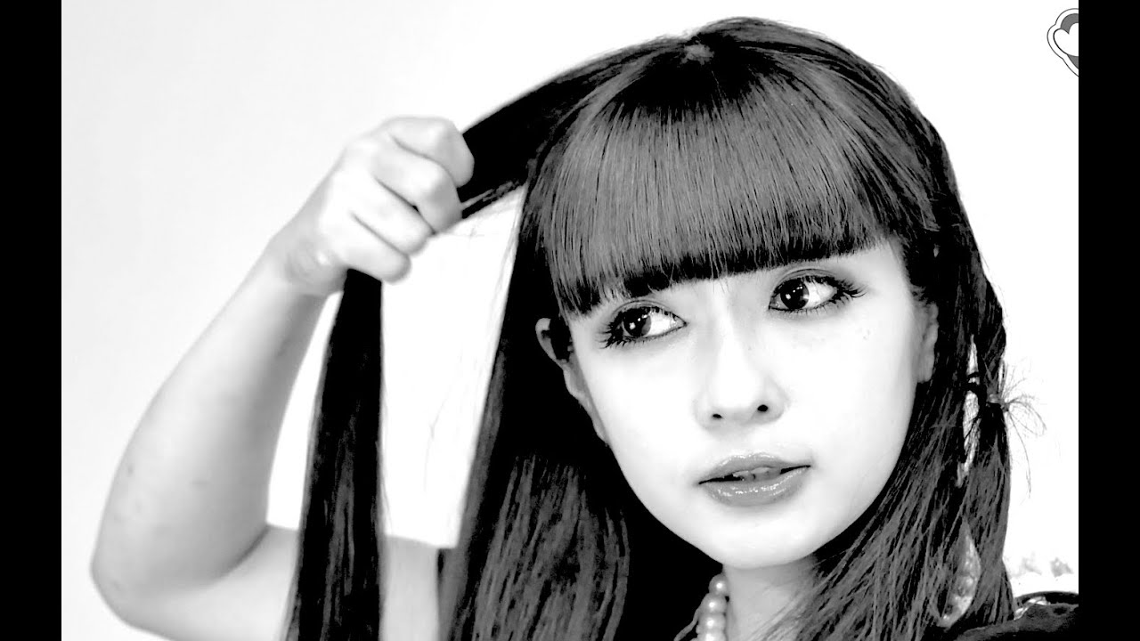 Hair Style Videos Youtube: Misako's GOTHIC Lolita HAIRSTYLE TUTORIAL
