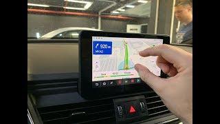 Android навигация Audi Q5 FY 2019 (Яндекс Навигатор, Пробки, онлайн ТВ).
