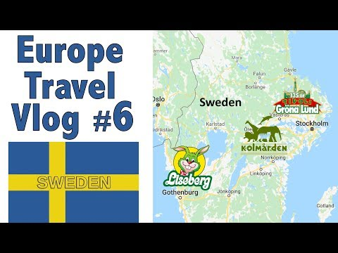 Europe Travel Vlog #6 – Sweden
