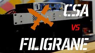 Сравнение студийных отечественных усилителей CSA и Filigrane