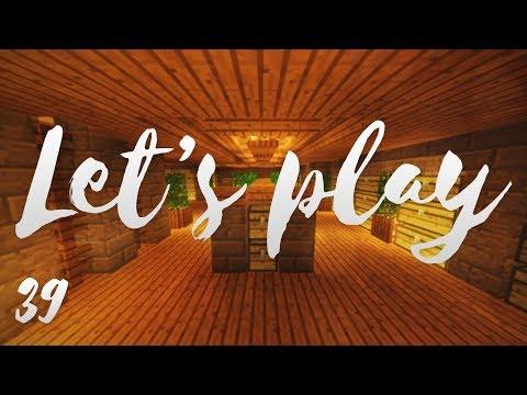 Let's play Ep39 - Nouvelle salle des coffres hyper géante :D - Minecraft fr - R3li3nt