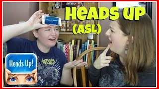 Heads Up Game (ASL) ┃ ASL Stew Video