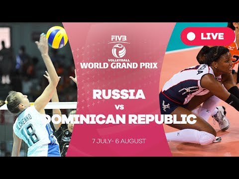 Russia v Dominican Republic - Group 1: 2017 FIVB Volleyball World Grand Prix