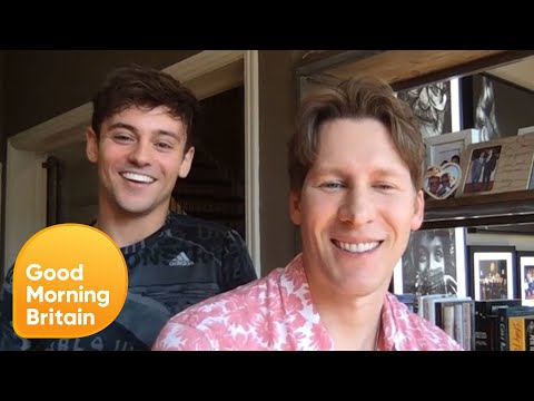 Dustin Lance Black On LGBTQ People In The Pandemic & Lockdown With Tom Daley | Good Morning Britain