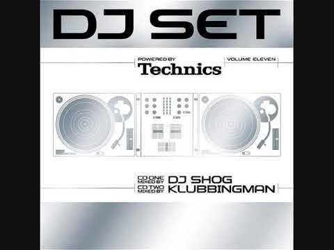 Technics DJ Set Volume Eleven - CD1 Mixed By DJ Shog