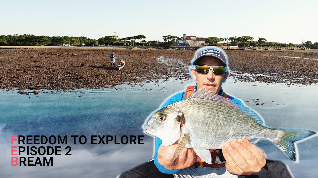 Freedom to Explore – Episode 2 – Bream – Smoothound – Bass –  Fish BBQ
