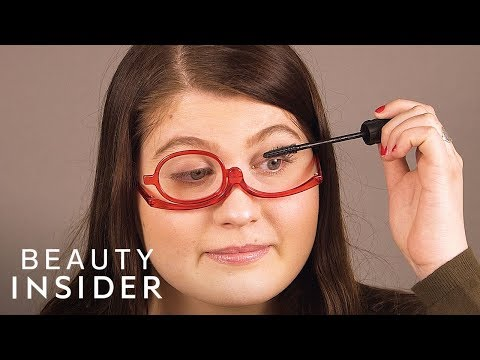 You Can Wear These Glasses And Apply Makeup At The Same Time