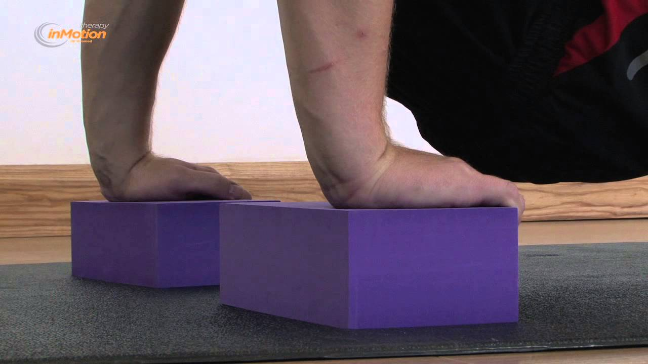 How to use a Therapy in Motion Foam Yoga Brick   Block - YouTube 093e24aeb