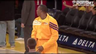 Lakers Pranks Dwight Howard!