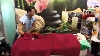 Ахмед Абдель фатах- Ahпmed Abd el Fatah Египетский массаж  egyption Massage Выставка 2016