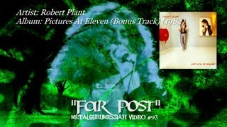 Robert Plant - Far Post (1982) (Remaster) [1080p HD]