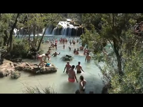 Best of Croatia travel: Rovinj Split, Zadar, Krka National Park Croatie Tourisme Kroatien Tourismus