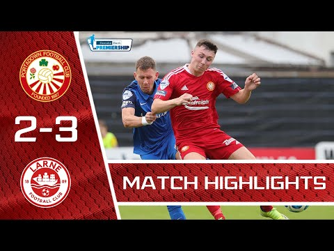 Portadown Larne Goals And Highlights
