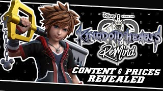 😃OFFICIAL DLC RELEASE DATE CONTENT & PRICES REVEALED!!🤗 | Kingdom Hearts 3 ReMind Dlc - (News)