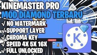Gambar cover Link Download Kinemaster Pro Mod Diamond Tanpa Watermark