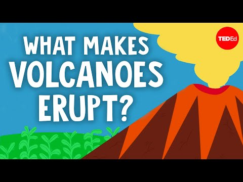 Volcanic eruption explained