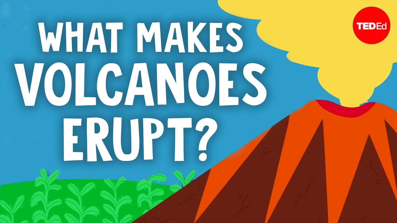 What makes volcanoes erupt? - Steven Anderson