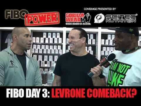 FIBO 2015 Day 3: New Exercise Innovation Plus Levrone Teaser