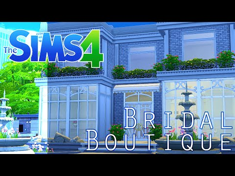 Bridal Boutique | The Sims 4 [Shop Build]