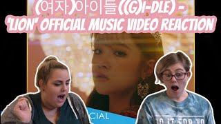 (여자)아이들((G)I-DLE) - 'LION' Official Music Video Reaction!