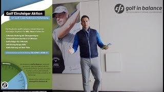 Einsteigeraktion Golf in Balance Golfclub Heilbronn-Hohenlohe