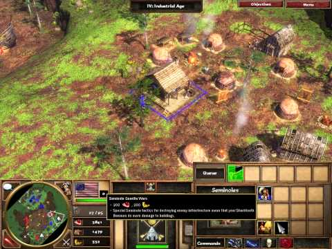 "Age of Empires 3 Walkthrough Act 3 Mission 4   ""Lost Spanish Gold"" - (No Commentary)"