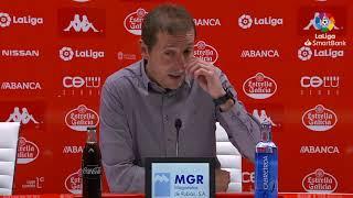 Rueda de prensa de  Luis Miguel Ramis tras el CD Lugo vs Albacete BP (1-0)