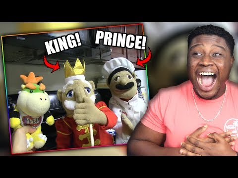 CHEF PEE PEE IS ROYALTY! | SML Movie: Chef Pee Pee's Family Reaction!