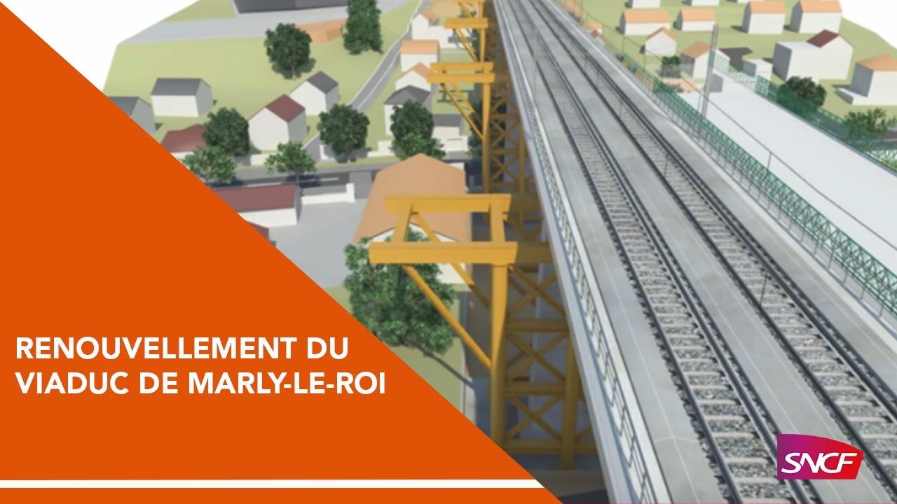 Modernisation renouvellement du viaduc de marly le roi - Piscine de marly le roi ...
